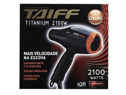 Secador de Cabelo Taiff Titanium Colors - 2100W 2 Velocidades ... 24448ce6b9d3