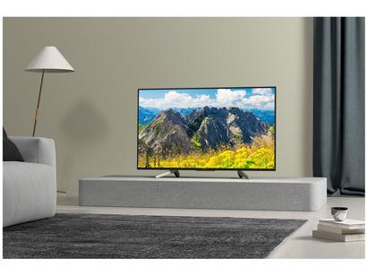 """9be2f6f7890d9 Smart TV 4K LED 49"""" Sony KD-49X755F Android - Wi-Fi HDR Conversor Digital 4  HDMI 3 USB"""