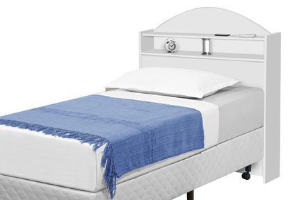 Cabeceira de Solteiro Sicília Branco - Tebarrot Móveis - Cabeceira para  Cama Box - Magazine Luiza 266fb3ecc5