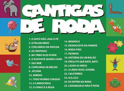 Cd Cantigas De Roda Volume 4 Top Disc Musica Infantil