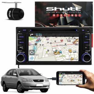 Central Multimídia Shutt Toyota 01 a 18 6.2 Pol 2 Din Espelhamento TV GPS  USB Bluetooth Câmera Ré - Central Multimídia - Magazine Luiza be4d10a87d3b3