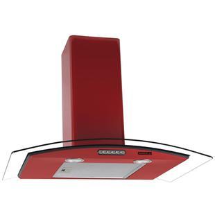 Coifa De Parede Vidro Curvo Slim Red 75Cm Nardelli - Coifa de parede ... dc39e771c244c