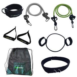 Conjunto Treinamento Funcional Elásticos e Extensores + Bolsa Gym ... 2b659158979de