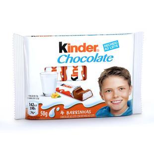 Kinder Chocolate Recheio ao Leite 50g - Adoçante - Magazine Luiza 8220f50ef0