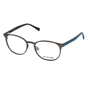 d62302867 Óculos de Grau Atitude Unissex AT1566 01A - Metal Bronze - Óculos ...