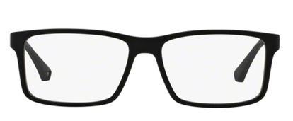 Óculos de Grau Emporio Armani EA3038 5063 Preto Lentes Tam 56 ... 32b6fe2831