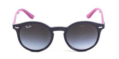 Óculos de Sol Ray Ban Junior Round RJ9064 Violeta Rosa - Acessórios ... 99aefc2fe4