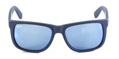 65686a50b Óculos de Sol Ray Ban Justin RB4165 Azul Naval Lente Espelhada ...