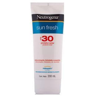 52de2c53e Protetor Solar Neutrogena Sun Fresh FPS 30 200ml - Protetor Solar ...
