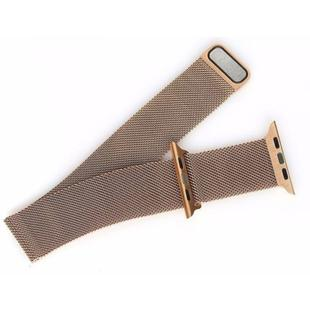 dc75d1c0b2f Pulseira Milanese Para Apple Watch 38mm - Dourado - Apple Watch ...