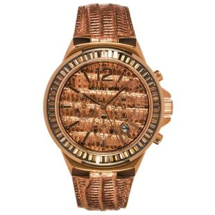 b2f20e9eb Relógio Luxo Michael Kors Mk2305 Orig Chron Anal Couro - Relógio de ...