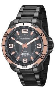f6fba58ad16 Relógio Masculino Mondaine 53679GPMVSS2 50mm Aço Grafite - Relógio ...