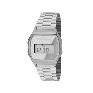 16d2b614af3 Relógio Mormaii Digital Feminino MOJH02AA3C Prata - Relógios ...