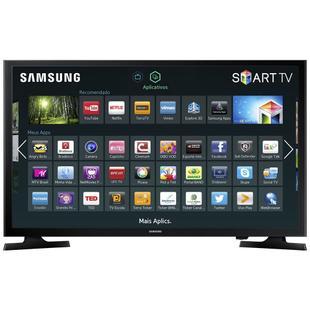 8ceaa5493 Smart TV LED 40 Full HD Samsung UN40J5200 2 HDMI 1 USB Wi-Fi ...