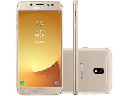 5ef0d19016 Smartphone Samsung Galaxy J7 Pro 64GB Dourado - Galaxy J7 Prime   J7 Pro -  Magazine Luiza