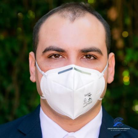 Imagem de 10 Máscaras 3M Hospitalar 9920H pff2 com registro Anvisa e selo inmetro CA 17611 n95
