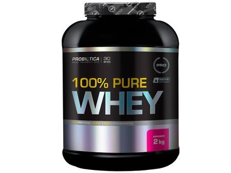 Imagem de 100% Pure Whey 2kg Morango - Probiotica