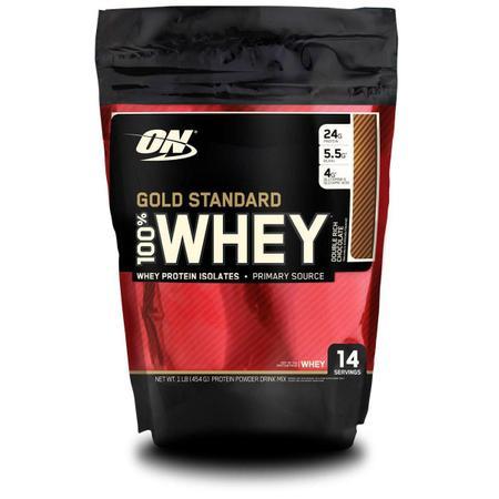 Imagem de 100% Whey Protein Gold Standard Optimum Nutrition 1 lb
