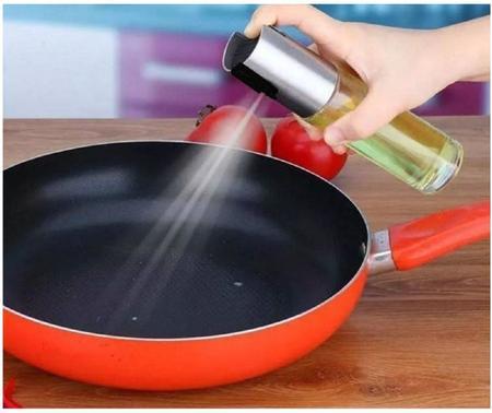 Imagem de 2 Moedores Sal Pimenta +2 Spray Porta Azeite Vinagre Limão