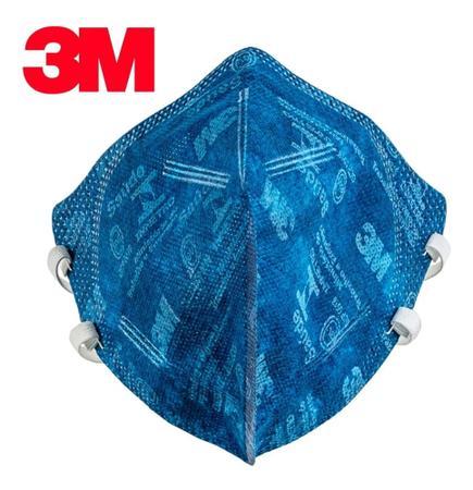 Imagem de 20 Máscaras 3M pff2 9820 de proteção respiratória com selo Inmetro CA 41.514 n95