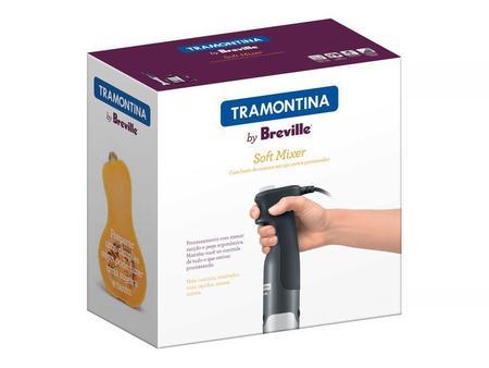 Imagem de 69025012 - Soft Mixer Tramontina em Aço Inox com Copo 15 Velocidades 220 V Tramontina