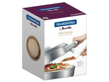 Imagem de 69141012 - Forno Elétrico Tramontina para Pizza em Aço Carbono com Base em Cerâmica 30 cm 220 V Tramontina