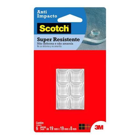 Imagem de Anti Impacto Piramidal Scotch C/6 Pçs HB004263065 3M