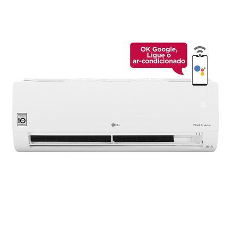 Imagem de Ar Condicionado Split Inverter LG Hi Wall DUAL Voice 18000 BTUs Frio S4NQ18KL31A  220V