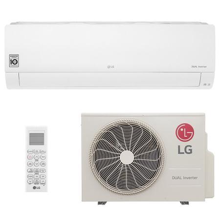 Imagem de Ar Condicionado Split Inverter LG Hi Wall DUAL Voice 24000 BTUs Frio S4NQ24K231D  220V