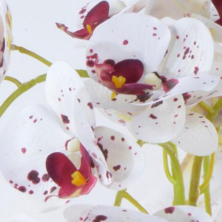 Imagem de Arranjo de Orquídea Artificial Tigre em Vaso Nude