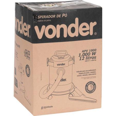 Imagem de Aspirador de Pó APV 1000 1000W 12 Litros 220V Vonder - 68.64.100.220