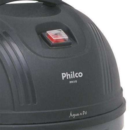 Imagem de Aspirador de Po e Agua Philco PH10L 1250W Preto/Cinza 220V       054902021