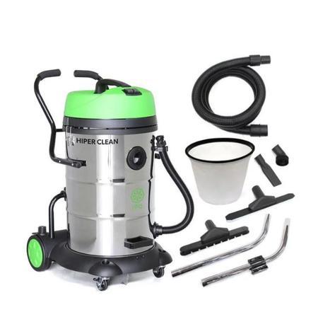 Imagem de Aspirador de pó IPC Hiper Clean 75L aço inoxidável, verde e preto 220V AA275-220