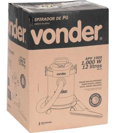Imagem de Aspirador Pó E Água Profissional 12 Lts Apv1000  Vonder 220v