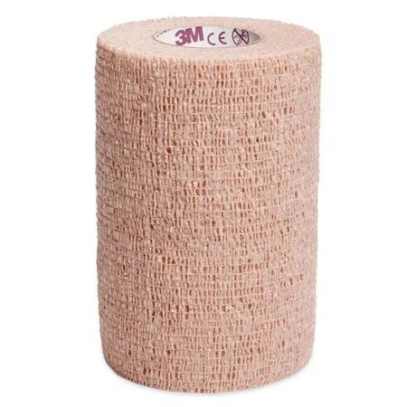 Imagem de Bandagem elastica bege coban 100mm x 4,5 m - 2084 - 3m - 1un