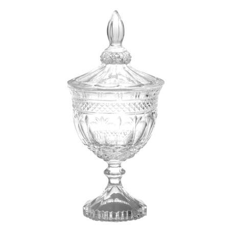 Imagem de Bomboniere cristal c/ pé 24.5 cm brandon lyor