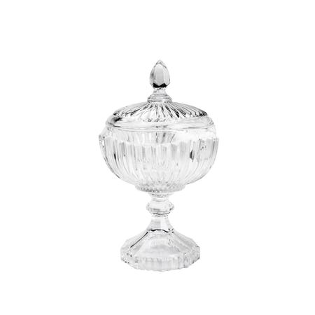 Imagem de Bomboniere de Cristal de Chumbo Com Pés 7488 Lyor