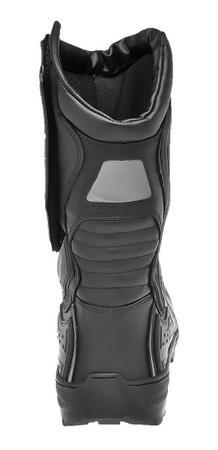 Imagem de Bota motociclista masculino speed acero cano longo em couro