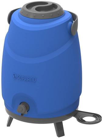 Imagem de Botijão Térmico com Porta Copos Aspen 12LT Azul Soprano