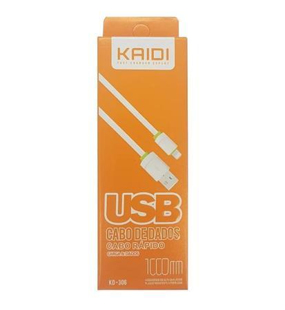 Imagem de Cabo iPhone 5 6 7 8 10 X 11 Original Kaidi Ultra Reforçado