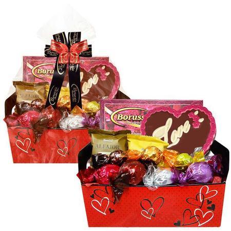 Imagem de Caixote Amor com Chocolates Variados Borússia Chocolates