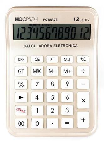Imagem de Calculadora de Mesa PS-8887B Hoopson