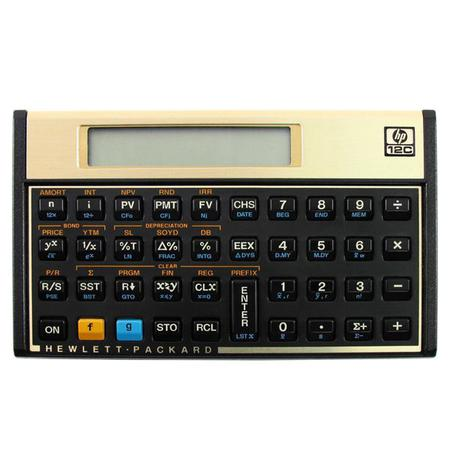 Imagem de Calculadora financeira 12c gold hp   hp