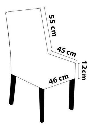Imagem de Capa de Cadeira Alice - Tamanho Grande em Malha Gel - ÓTIMA QUALIDADE