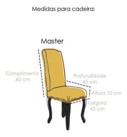 Imagem de Capa de Cadeira Master Estampada Shade Sultan