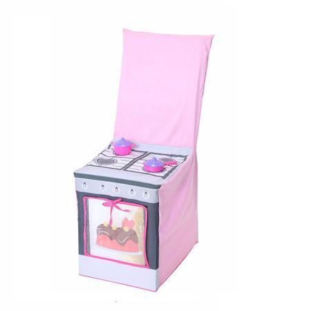 Imagem de Capa para cadeira infantil que imita fogãozinho