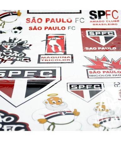 Imagem de Cartela de Adesivos do São Paulo Oficial