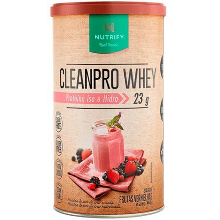 Imagem de Clean Pro Whey - Frutas Vermelhas - 450g - Nutrify