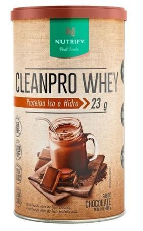 Imagem de CleanPro Whey (450g) - Chocolate - Nutrify