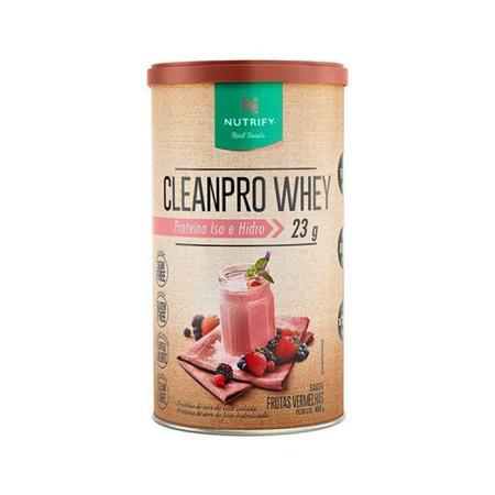 Imagem de Cleanpro whey 450g - frutas vermelhas - Nutrify